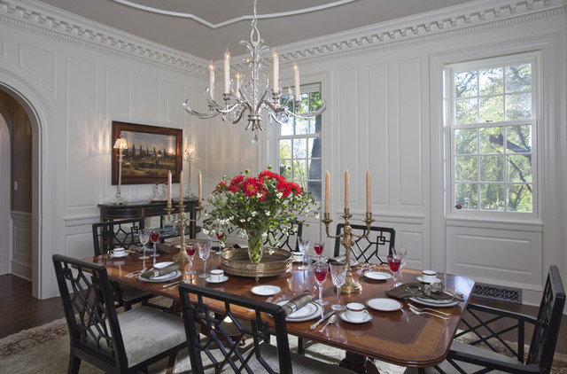 Traditional Dining Room by Charlie & Co. Design, Ltd