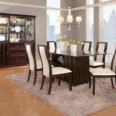 Contemporary Dining Room by CheaperFloors