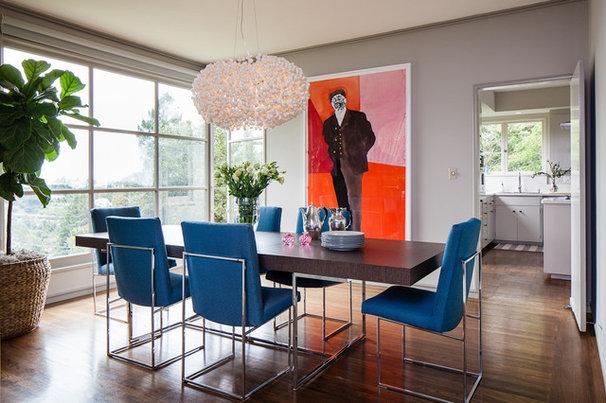 Contemporary Dining Room by Cheryl Burke Interior Design