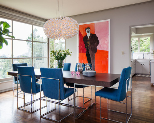 blue dining chairs houzz