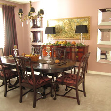 Traditional Dining Room by Chic Decor & Design, Margarida Oliveira