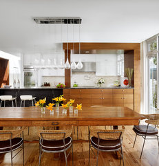 contemporary dining room by Chioco Design