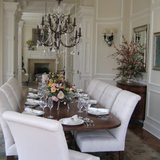 Traditional Dining Room by Christine Bhe, Bhe Design LLC