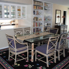 Eclectic Dining Room by Cindy Abramovitz, Allied ASID