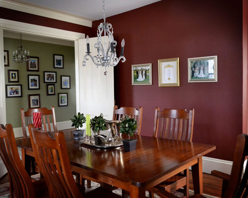 Red dining room home design ideas pictures remodel and decor - Red dining room color ideas ...
