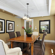 Traditional Dining Room by Design Discoveries