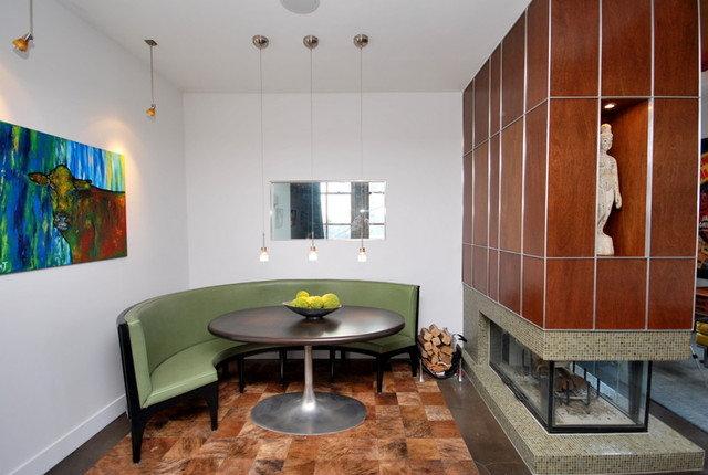 Contemporary Dining Room by Craig Martin Design