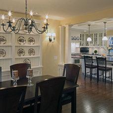 Traditional Dining Room by Cramer Kreski Designs