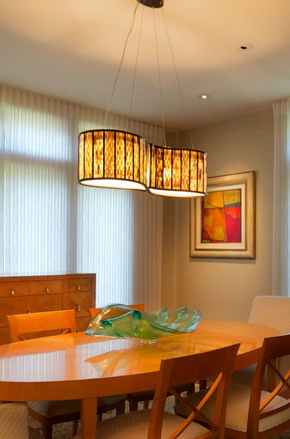 Modern Dining Room by Creative Lighting