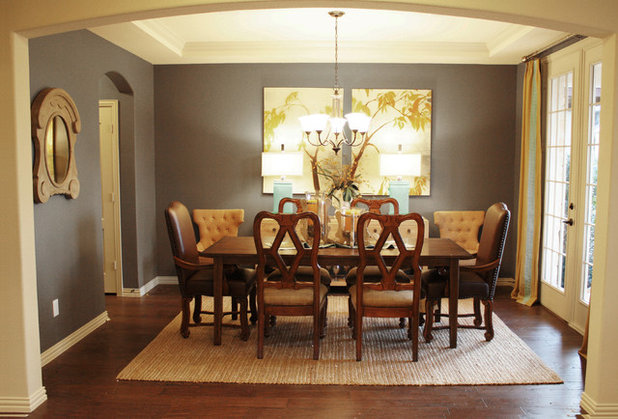 Traditional Dining Room by Cristi Holcombe Interiors, LLC