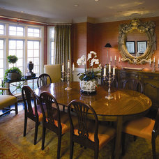 Traditional Dining Room by Crossroads Interiors