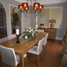 Contemporary Dining Room by Cynthia Taylor-Luce