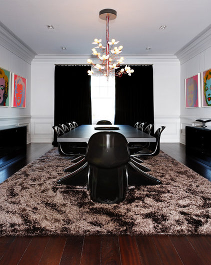 contemporary dining room by d'apostrophe design, inc.