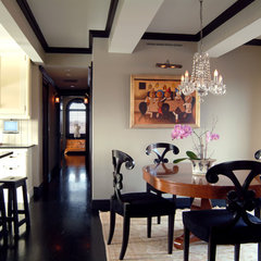 contemporary dining room by Dalia Kitchen Design