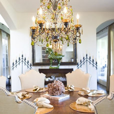 Eclectic Dining Room by Bliss Design Firm