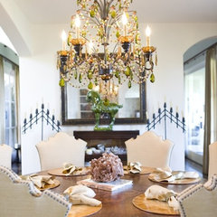 traditional dining room by Bliss Design Firm
