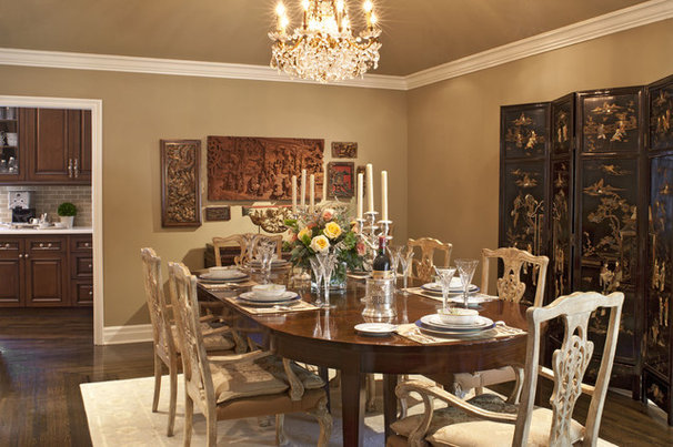 Traditional Dining Room by Dayna Katlin Interiors
