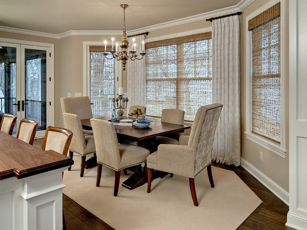Traditional Dining Room by Design By Lisa