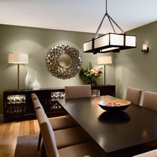 Contemporary Dining Room by design happens