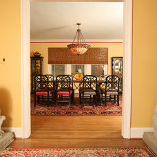 Asian Dining Room by Designing Solutions
