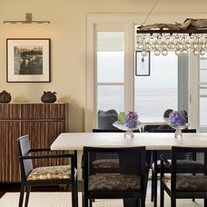 Contemporary Dining Room by Duffy Design Group