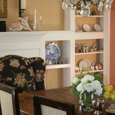 Traditional Dining Room by Kim Woods