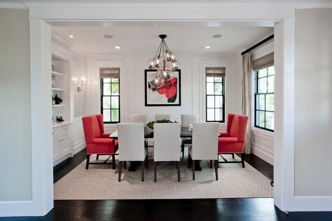 Contemporary Dining Room by Details a Design Firm