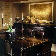 Asian Dining Room by Donna Livingston Design