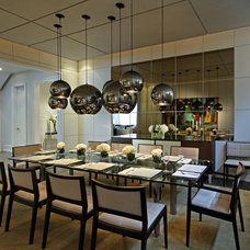 Contemporary Dining Room by Douglas Design Studio