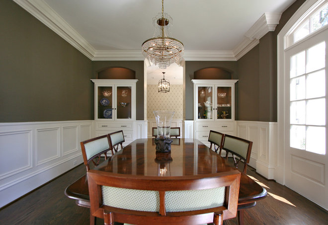 Traditional Dining Room by Dresser Homes
