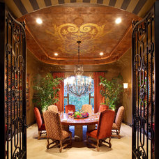 Traditional Dining Room by dRichards Interiors