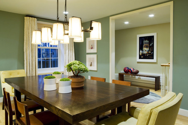 Contemporary Dining Room by Dufner Heighes Inc