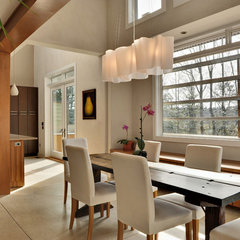 contemporary dining room by Echelon Custom Homes