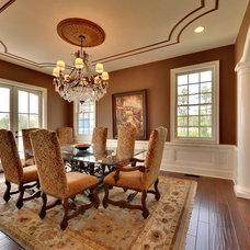Mediterranean Dining Room by Echelon Custom Homes