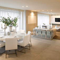 Modern Dining Room by Elad Gonen