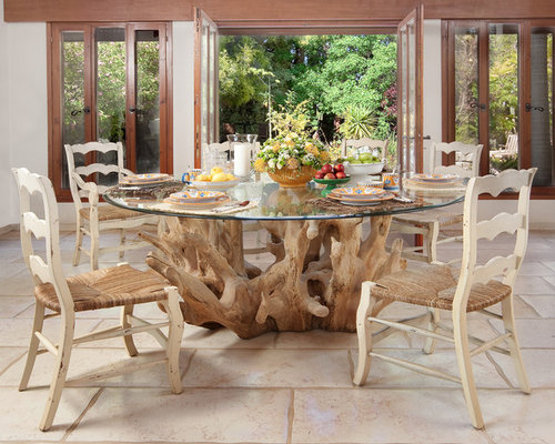 Best Tree Trunk Dining Table Design Ideas amp Remodel