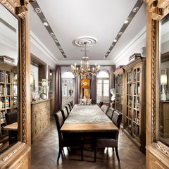traditional dining room by Elad Gonen & Zeev Beech