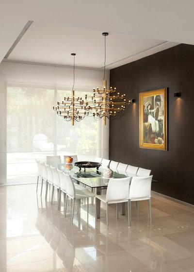 Contemporaneo Sala da Pranzo by Elad Gonen
