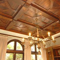 Traditional Dining Room by Elias Benabib, Corp.