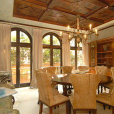 Traditional Dining Room by Elias Benabib, Corp.