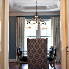 Eclectic Dining Room by Elizabeth Reich