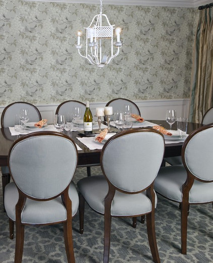 Traditional Dining Room by Erik Waldorf Interior Design