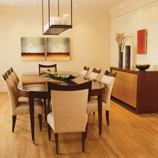 Contemporary Dining Room by Ernesto Santalla PLLC