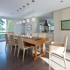 Contemporary Dining Room by Studio Santalla, Inc