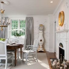 Traditional Dining Room by F. D. Hodge Interiors