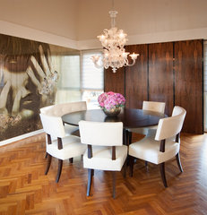 modern dining room by Design Loft Interiors