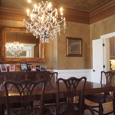 Traditional Dining Room by Creative Cabinets and Faux Finishes. LLC