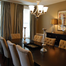 Contemporary Dining Room by A.HICKMAN Design