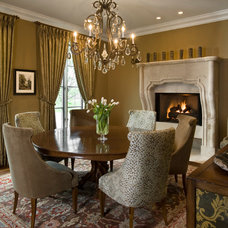 Traditional Dining Room by Fredman Design Group