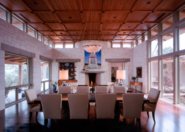 Traditional Dining Room by Furman + Keil Architects